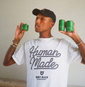 Pharrell Williams Human race skincare