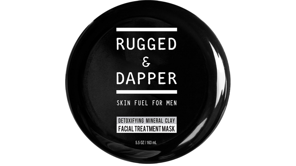 Rugged and Dapper best face mask for acne men